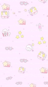 kawaii pastel cute wallpapers iphone backgrounds background anime cartoon aesthetic phone goth screen laptop drawings pink paper journals hd dog