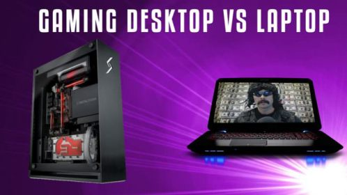 gaming desktop laptop vs
