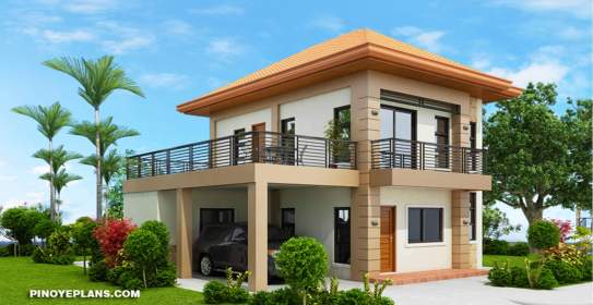 story storey terrace floor simple plans plan double philippines havana spacious square pinoy meters roof second flat bedrooms bedroom amazingarchitecture