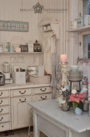shabby chic kitchen cottage decor kitchens designs accessories farmhouse awesome country forcreativejuice corner romantic cream open bedrooms living cocina sypialnie