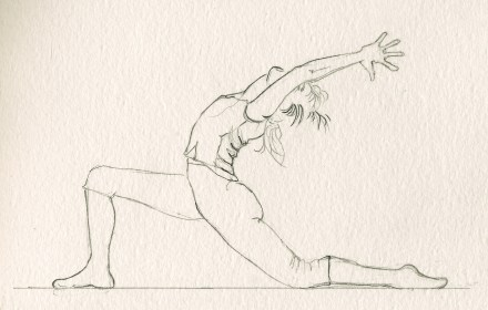 Drawings Of Yoga Poses Work Out Picture Media Work Out