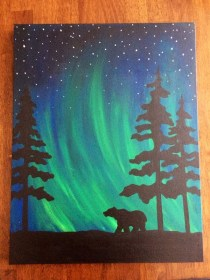 acrylic painting beginners easy canvas source