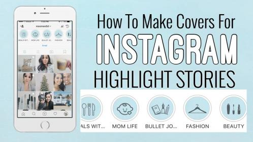instagram highlight story icons covers highlights tutorial verhaal youtu