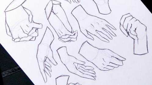 hands anime draw drawing beginners tutorial