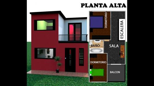 Casa 5 X 10 / House 5x10 estilo moderna YouTube
