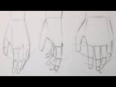 fist anime hands draw relaxed drawing drawings sketches border