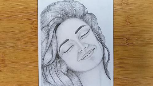 drawing happy draw sketch easy face pencil faces drawings sketches sad simple silly