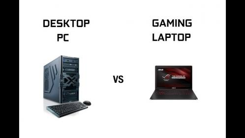 laptop vs gaming pc desktop