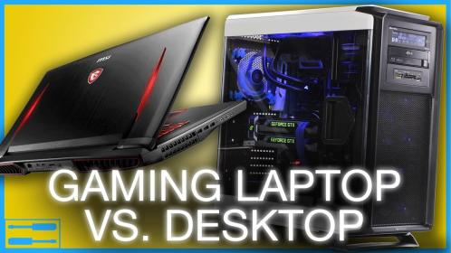 laptop vs gaming desktop difference