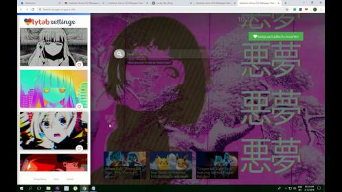 aesthetic background anime cool chrome theme must