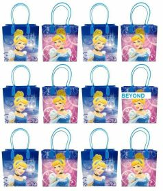 bags disney gift cinderella goodie princess favor birthday goody bag loot favors 12pc candy gifts princesses pack supplies