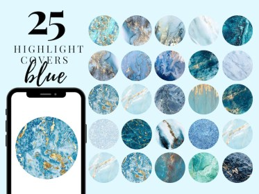 marble highlight covers