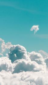 iphone aesthetic wallpapers cloudy xr fondos preppy fluffy phone backgrounds nature cloud pantalla clouds rudelg loraine macbook whatsapp nubes azul