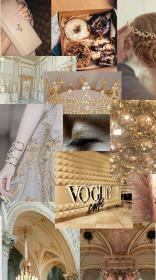 Aesthetic collage Rose gold wallpaper, Aesthetic collage