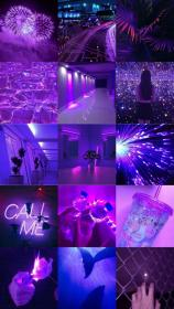 aesthetic pastel purple ungu iphone colors wallpapers vsco jen violet rainbow polos neon collage backgrounds dark cutrik neoma stacey pinad