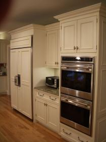 2018 Double Oven and Microwave Cabinet Kitchen Cabinet