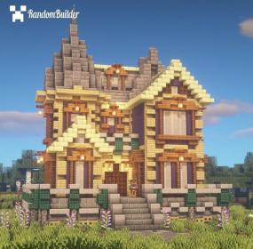 minecraft houses victorian kingdom cottage blueprints amazing