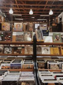 aesthetic brown music records beige grunge wallpapers retro wall lbc around stores june outdoors collage vsco sstephcc