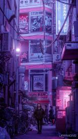 Liam Wong 💜 on in 2020 Cyberpunk aesthetic, Aesthetic