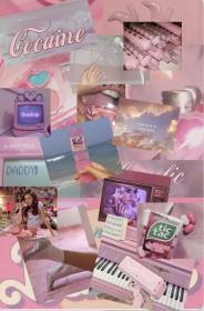 aesthetic 90s collage 80s purple iphone pastel wallpapers retro phones phone cartoon liebe anime backgrounds