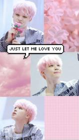 aesthetic bts jimin pastel wallpapers park grunge collage