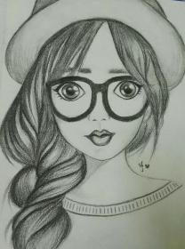 drawing sketches pencil drawings sketch cartoon girly portrait