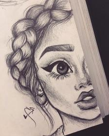 drawings drawing swag sketches dessin fille 3d 1001
