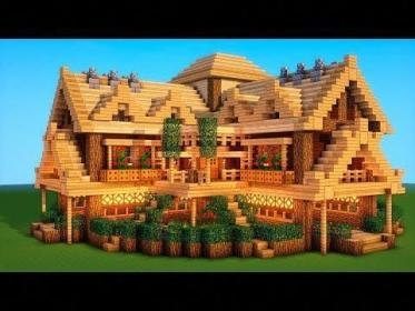 (6) Ultimate Minecraft Survival Base With Everything You