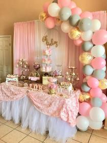 Beautiful Baby Shower set up by @lechicboutique 1 #