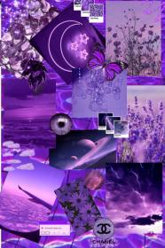 Collage arsthetic violet👾 in 2020 Purple wallpaper
