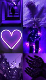 aesthetic purple phone wallpapers neon laptop collage hd iphone violet pink backgrounds dark background mood quotes lavender archzine grunge lights