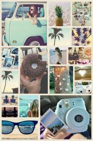 Summer Aesthetic collage Aesthetic collage, Collage