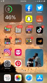 Aesthetic ios14 cmbyn in 2020 Iphone organization