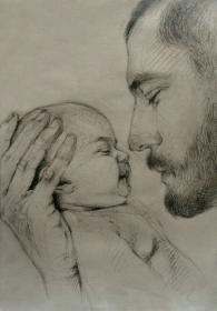 Happy fathers day 😊 Art drawings sketches creative