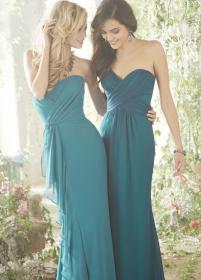 teal dresses bridesmaid turquoise bridesmaids cheap flower inspiration inspirations couture stylish modwedding dark jlm weddings prom read wear gown cake