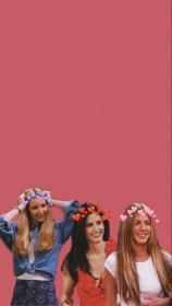 friends tv aesthetic rachel wallpapers cute iphone phoebe cast monica backgrounds quotes phone