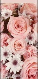 rose iphone phone android aesthetic pink flower backgrounds edge floral unique pretty effect roses power landscape glitter