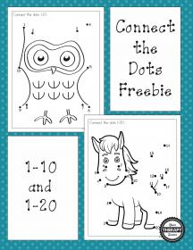 dots connect dot visual numbers preschool activities printables motor therapy puzzles freebies printable easy skills math closure figure kindergarten yourtherapysource