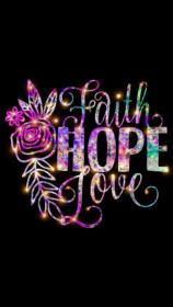 faith hope galaxy quotes background backgrounds purple glitter wallpapers iphone uploaded user screen sparkles
