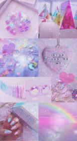 cute iphone wallpapers aesthetic pink purple background hd glitter pretty sparkly pastel ipad backgrounds unicorn collage boss pixel