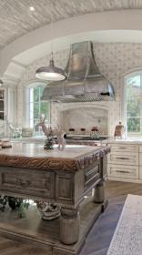 french country hood island kitchens rustic distressed ikea hoods range decorating cabinets elegant mediterranean roundecor diatblodtryk myhousestyles remodelq resume template