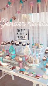gender reveal themes party baby decorations decoration shower pregnancy unique outfits maternity reveals bebe cool sexymamamaternity box discover creative cute