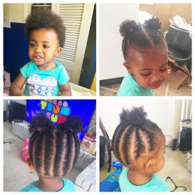 hair natural hairstyles baby toddler braided braids styles infant children short hairstyle braid lil beads kid african trending blonde cuts