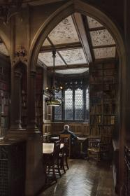 Books and architecture perfect partners! John Rylands