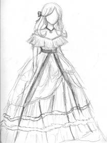 prom drawing deviantart drawings sketches dress3 pencil anime pretty outfits reference poses character butler random costumes