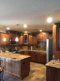 recessed lighting led kitchen lights bedroom pot installation remodel install inch az island energy efficient fixtures master less electric low