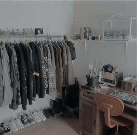 aesthetic brown grey pastel themes gray theme bedroom wallpapers backgrounds colors aesthetics cynthia