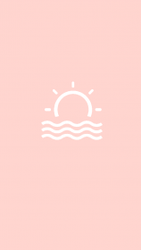 aesthetic pink yellow background backgrounds story sun instagram highlights wave cute waves template smile iphone icon wallpapers icons highlight tumblr