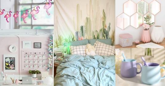 pastel aesthetic bedroom essentials candy taobao furniture thesmartlocal rooms dorm nail coloured decoration cozy boho event bedroomdecortips deco