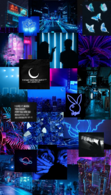 aesthetic neon iphone ios phone collage shayna homescreen wallpapers